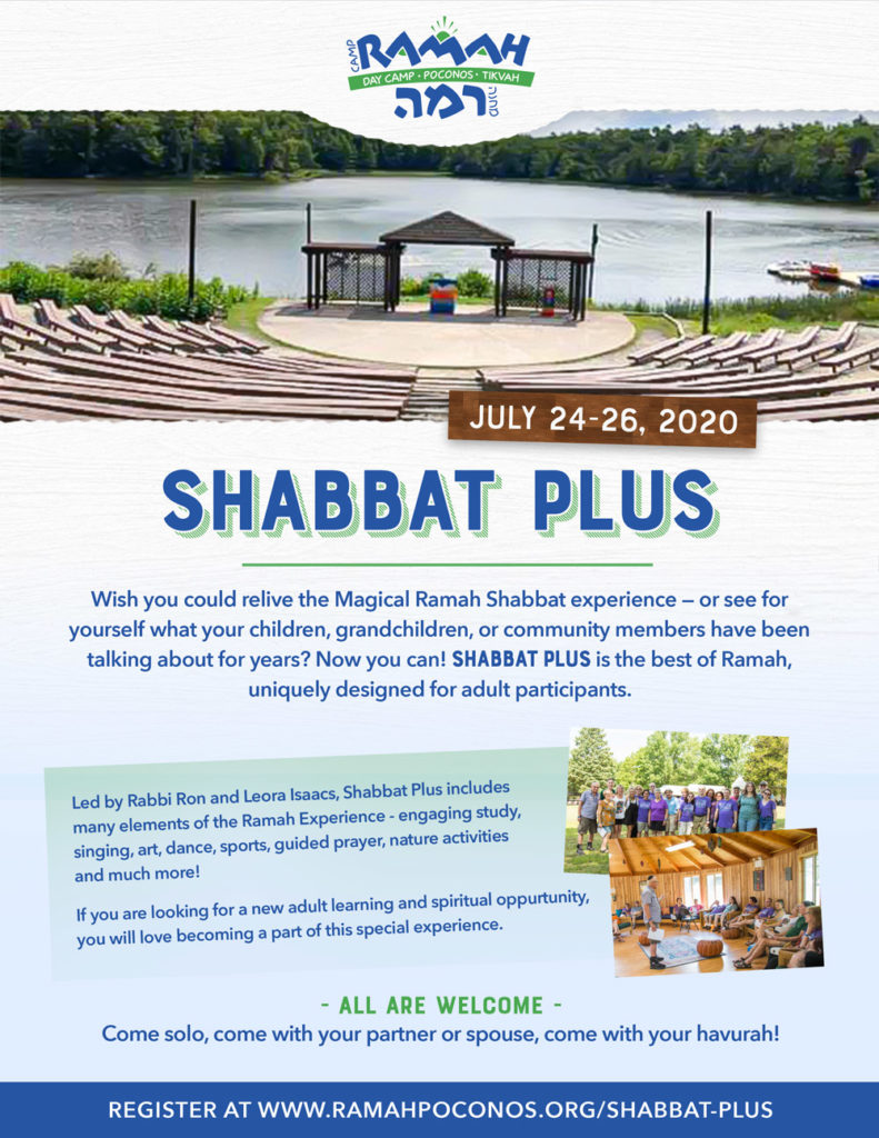 SHABBAT PLUS 2020